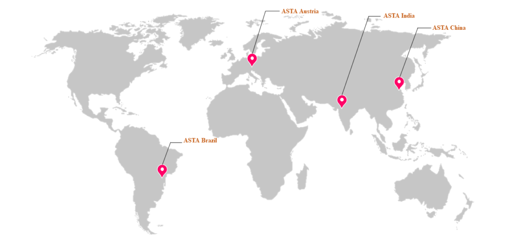 Global Presence of ASTA